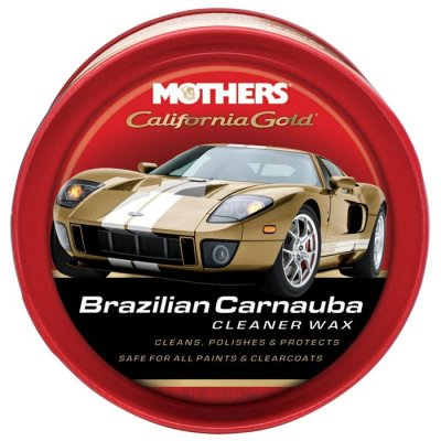California Gold Carnauba Cleaner Paste Wax - 340gr