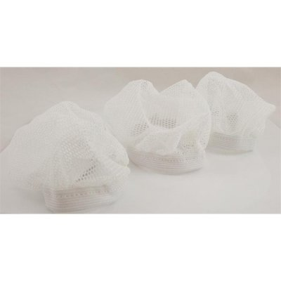 Nylon Mesh Bonnets - 3 pack