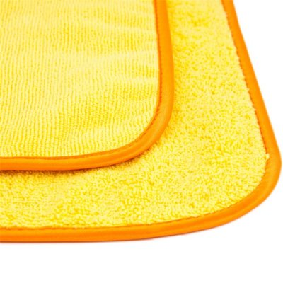 Deluxe Mega Towel - Geel - 39x39cm