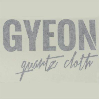Gyeon Logo sticker blauw - 16x10,5cm