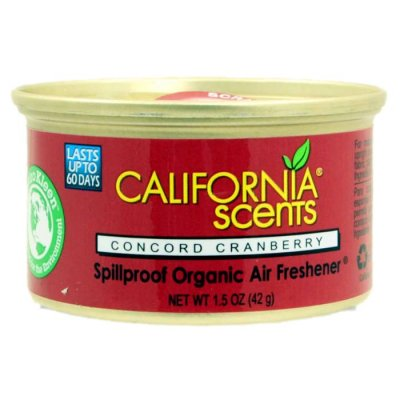 Lekvrije organische luchtverfrisser - Concord Cranberry