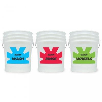 Bucket Sticker Set