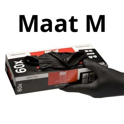 Nitril Handschoenen Extra - Maat M - Doos 60 stuks