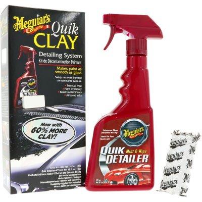 Quik Clay Detailing System 473 ml met 80gr Clay Bar