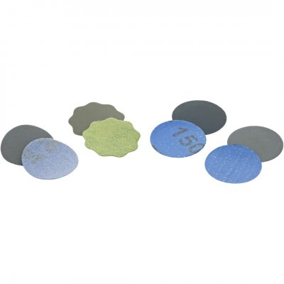 Schuurschijfjes zelfklevend P2500 - 10 stuks