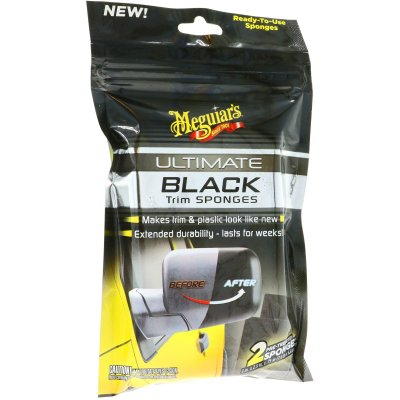 Ultimate Black Trim Sponges