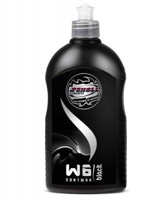 W6 Black Coatwax - 500ml