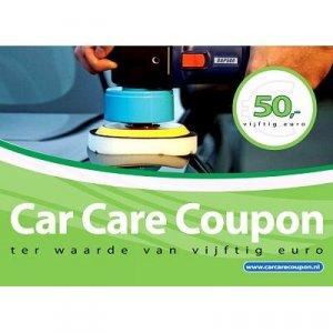 Car Care Coupon - Groen - € 50,-
