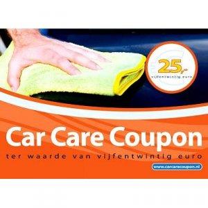 Car Care Coupon - Oranje - € 25,-