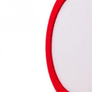 "Raffini 6"" Recessed Foam Finishing Pad - Red"
