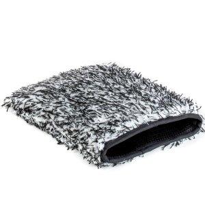 3+ Tech Microfiber Wash Mitt - Zwart