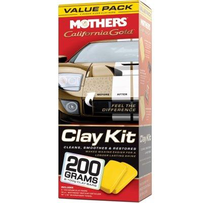 California Gold Clay Bar Paint Saving System (kit)