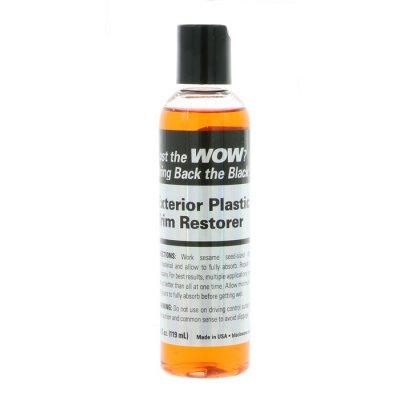 Black WOW Classic Exterior Trim Restorer - 119ml