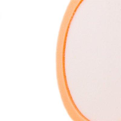 """Raffini 6"""" Recessed Foam Light Cutting Pad - Orange"""