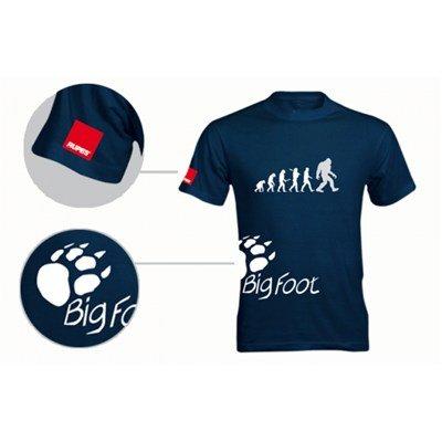 BigFoot T-Shirt blauw - maat XXL