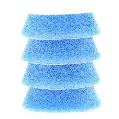 Blue Coarse Foam Pad - 54/70mm - 4-pack