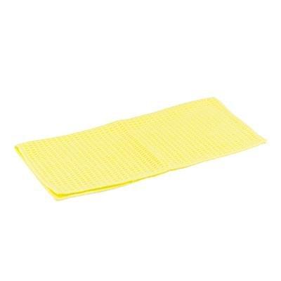 Chequered Rag Waffle Microfiber Work Cloth - 30x30cm