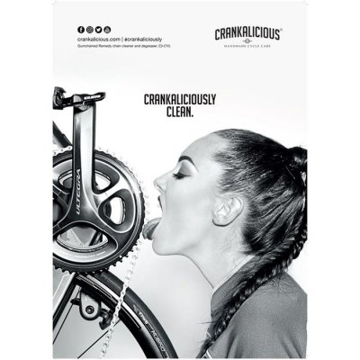 Crankalicious Taste The Clean A2 Poster - Chain