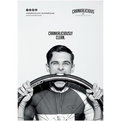 Crankalicious Taste The Clean A2 Poster - Tyre