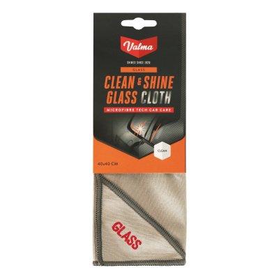Clean & Shine Glass Cloth - 40x40cm