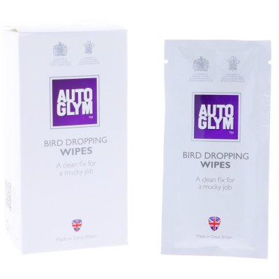 Bird Dropping Wipes - 10st.