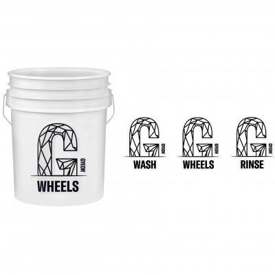Gyeon emmer stickerset Wash-Rinse-Wheels