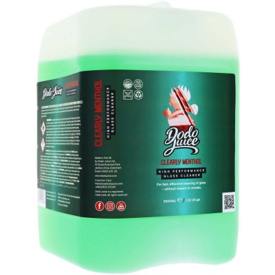 Clearly Menthol Professional Glass Cleaner - 5000ml