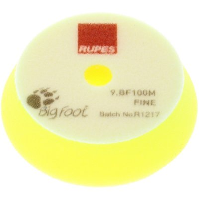 Yellow Fine Polishing Pad - 80/100mm