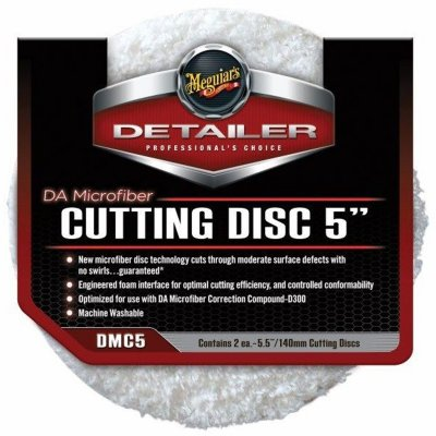 DA Microfiber Cutting Disc Pad - 5 inch - 2pack