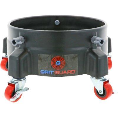 Rolonderstel voor Grit Guard Emmer Zwart - 5 zwenkwielen