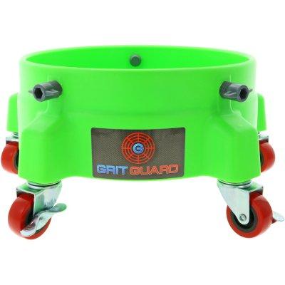 Rolonderstel voor Grit Guard Emmer Groen - 5 zwenkwielen