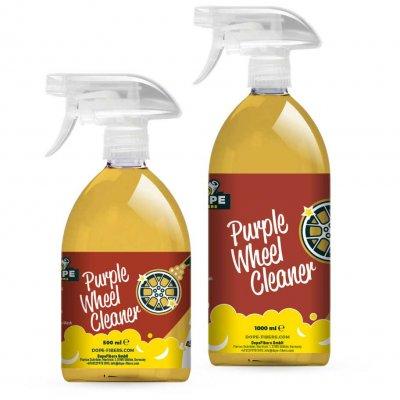 Purple Wheel Cleaner