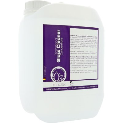 Professional Glass Cleaner Concentrate - 5000ml