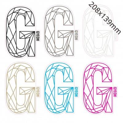 G Sticker - 208x139mm