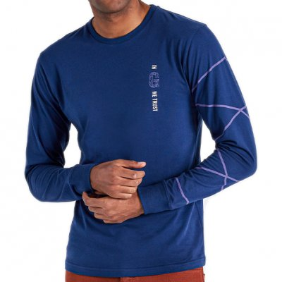 Gyeon Long Sleeve Navy Blue