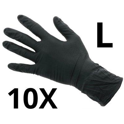 Nitril Handschoenen Extra - Maat L - 10 stuks