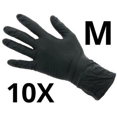 Nitril Handschoenen Extra - Maat M - 10 stuks