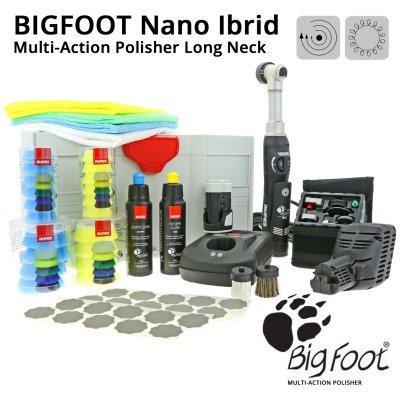 BigFoot Nano iBrid Multi-Action Polisher - Long Neck
