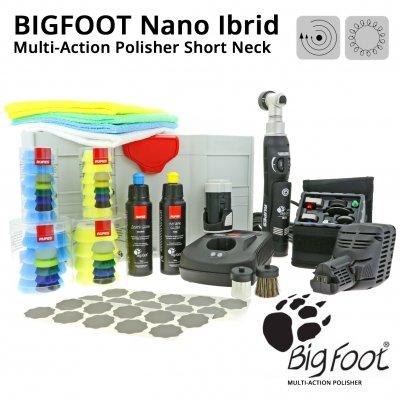 BigFoot Nano iBrid Multi-Action Polisher - Short Neck