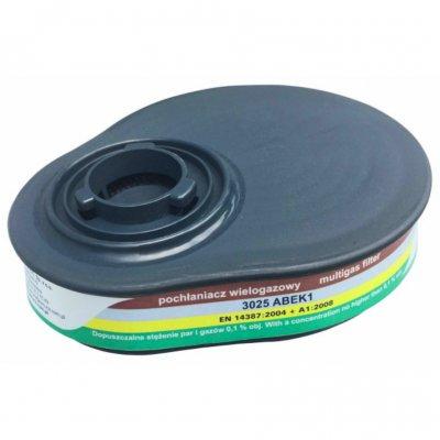 Filterset voor Secura 3000 halfgelaatsmasker ABEK1