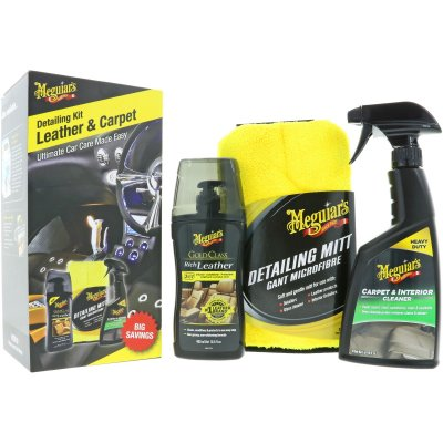 Leather and Carpet Detailing Kit