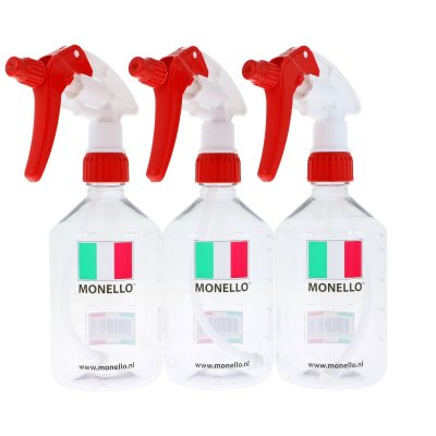 Lege fles met maatverdeling en Canyon sprayer 500ml - 3-pack