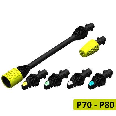 Nozzle Kit 5-delig voor AVA P70-P80 en Kärcher K5-7 series