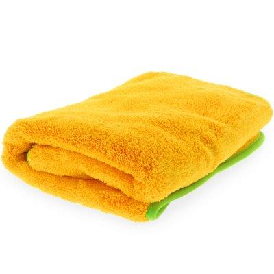 Orange Plush Ultra-Soft Drying Towel - 60x60cm