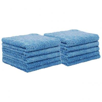 Allround Microfiber Towel Soft Blue 10-pack - 40x40cm