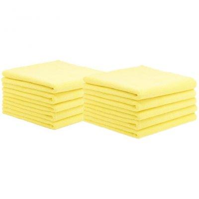 Allround Microfiber Towel Yellow HD 10-pack - 40x40cm