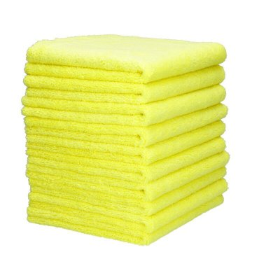 Allround Microfiber Towel Soft Yellow 10-pack - 40x40cm