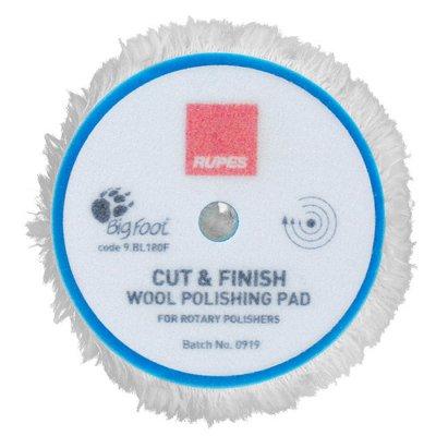 Cut & Finish Rotary Wool Pads - 125mm