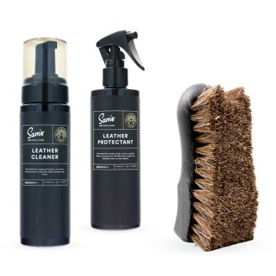 Leather Cleaning & Protection Kit