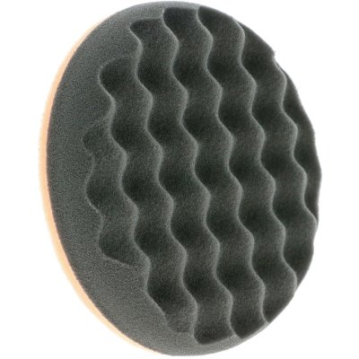 Black SofTouch Waffle Finishing Pad - 145mm